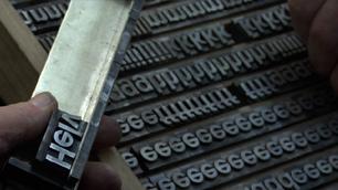 Helvetica documentary still image